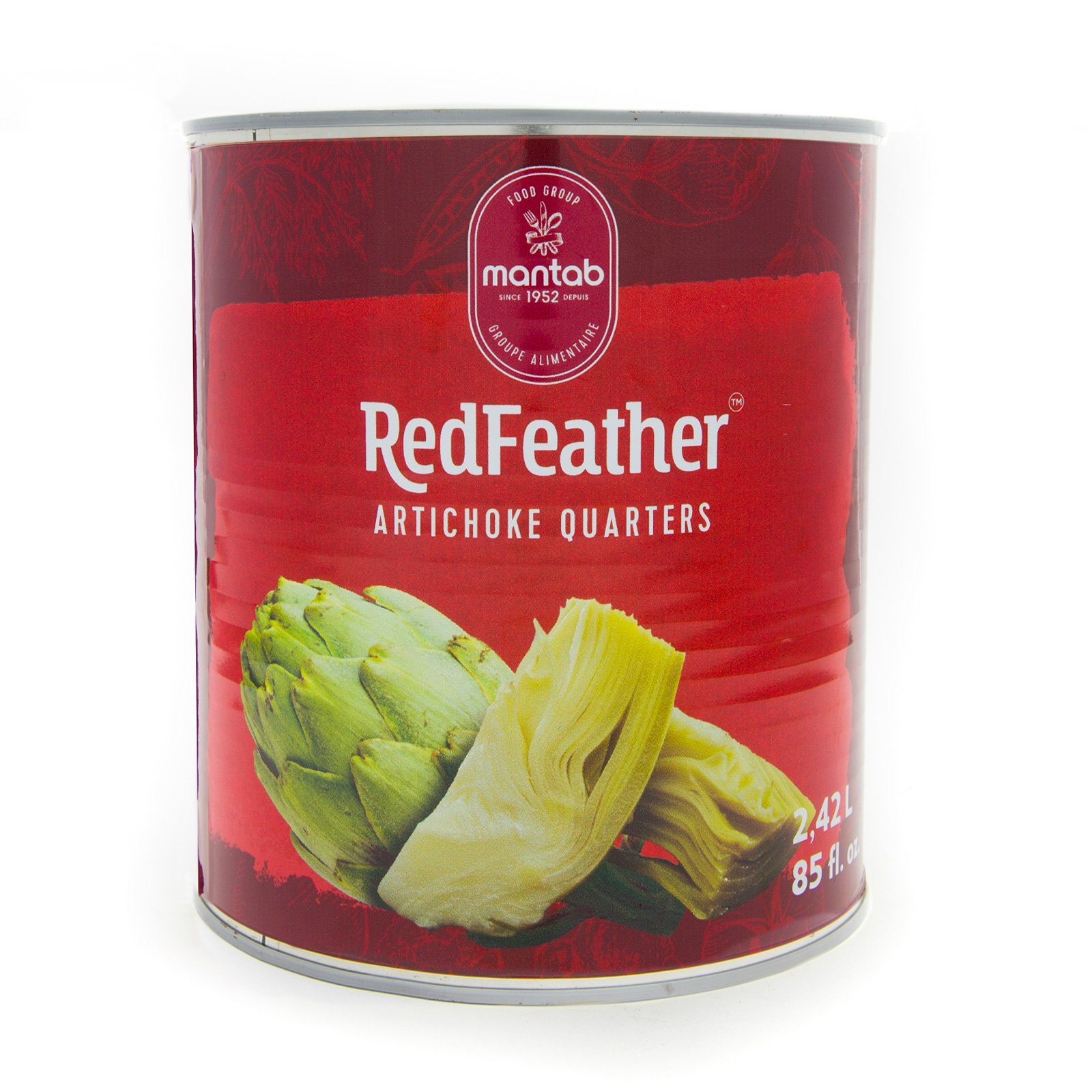 RED FEATHER Artichoke quarters