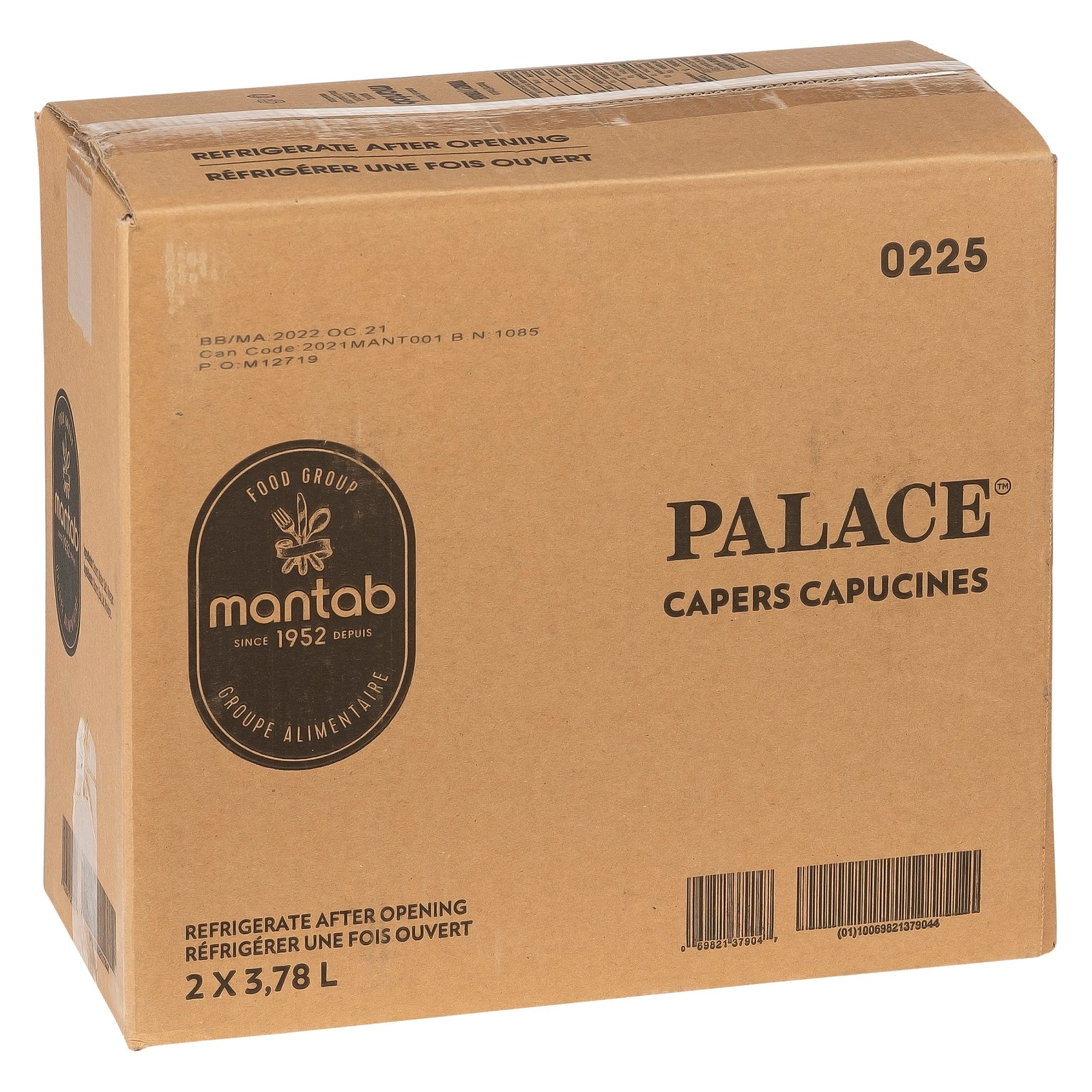 PALACE Capers capucine