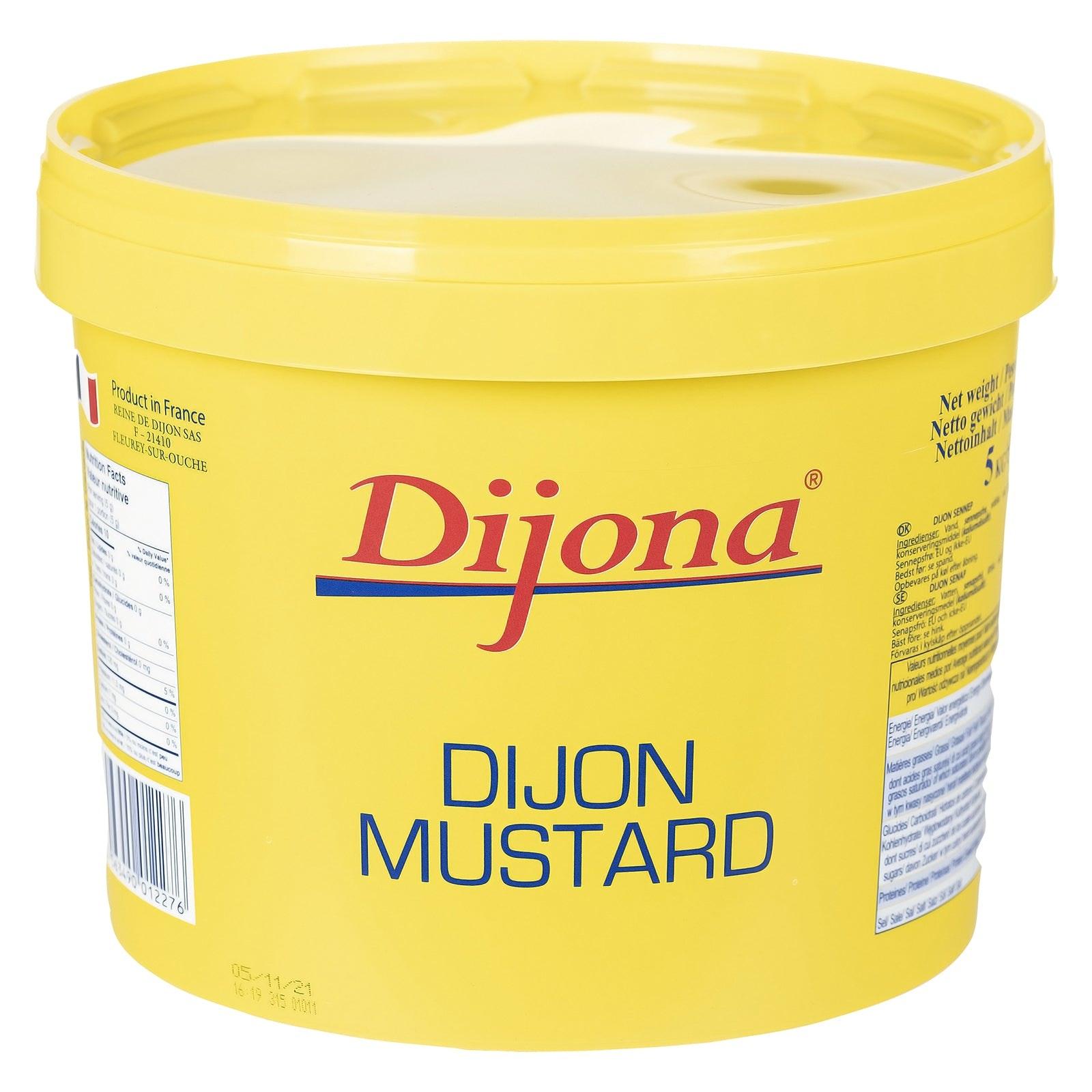 DIJONA Dijon mustard extra strong in pails