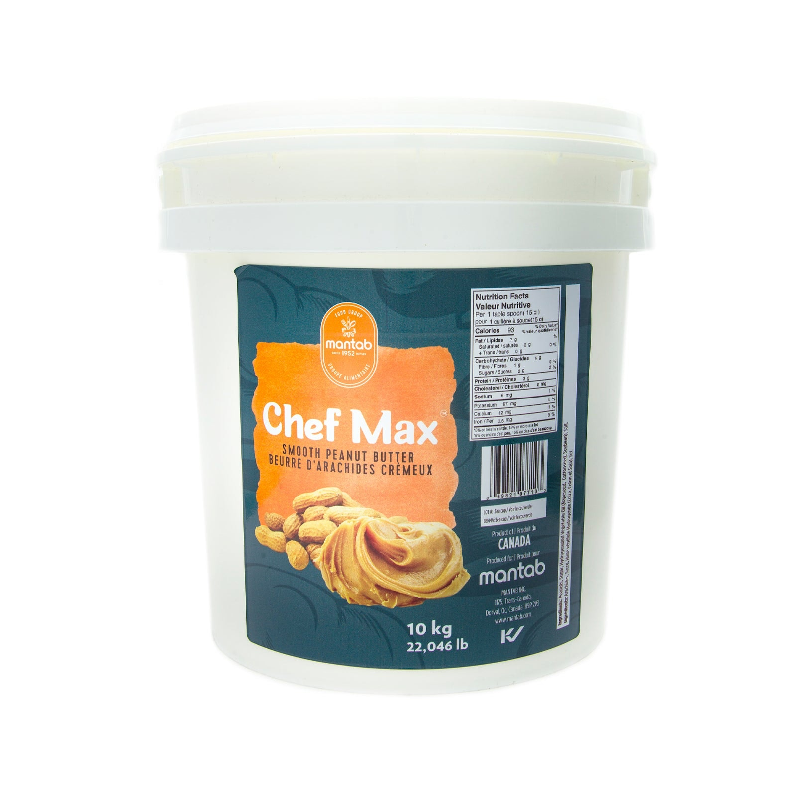 CHEF MAX Peanut butter (smooth)