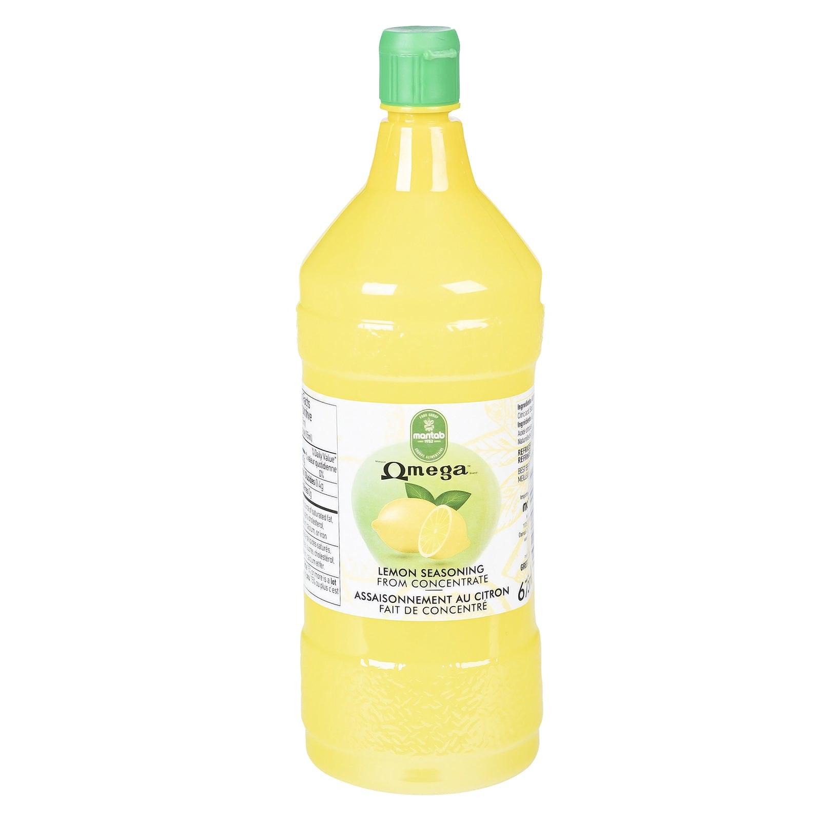 OMEGA Lemon juice
