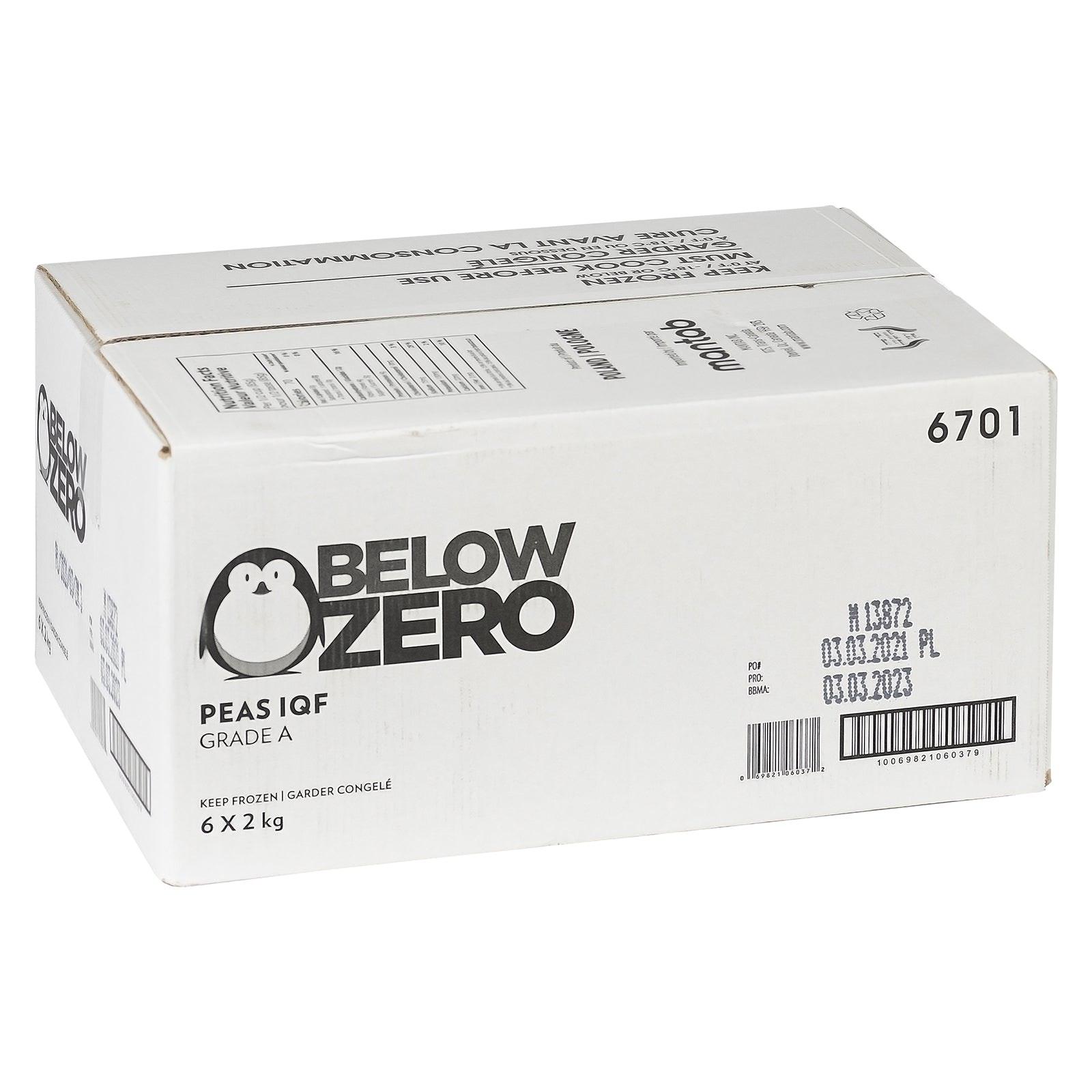 BELOW ZERO Peas