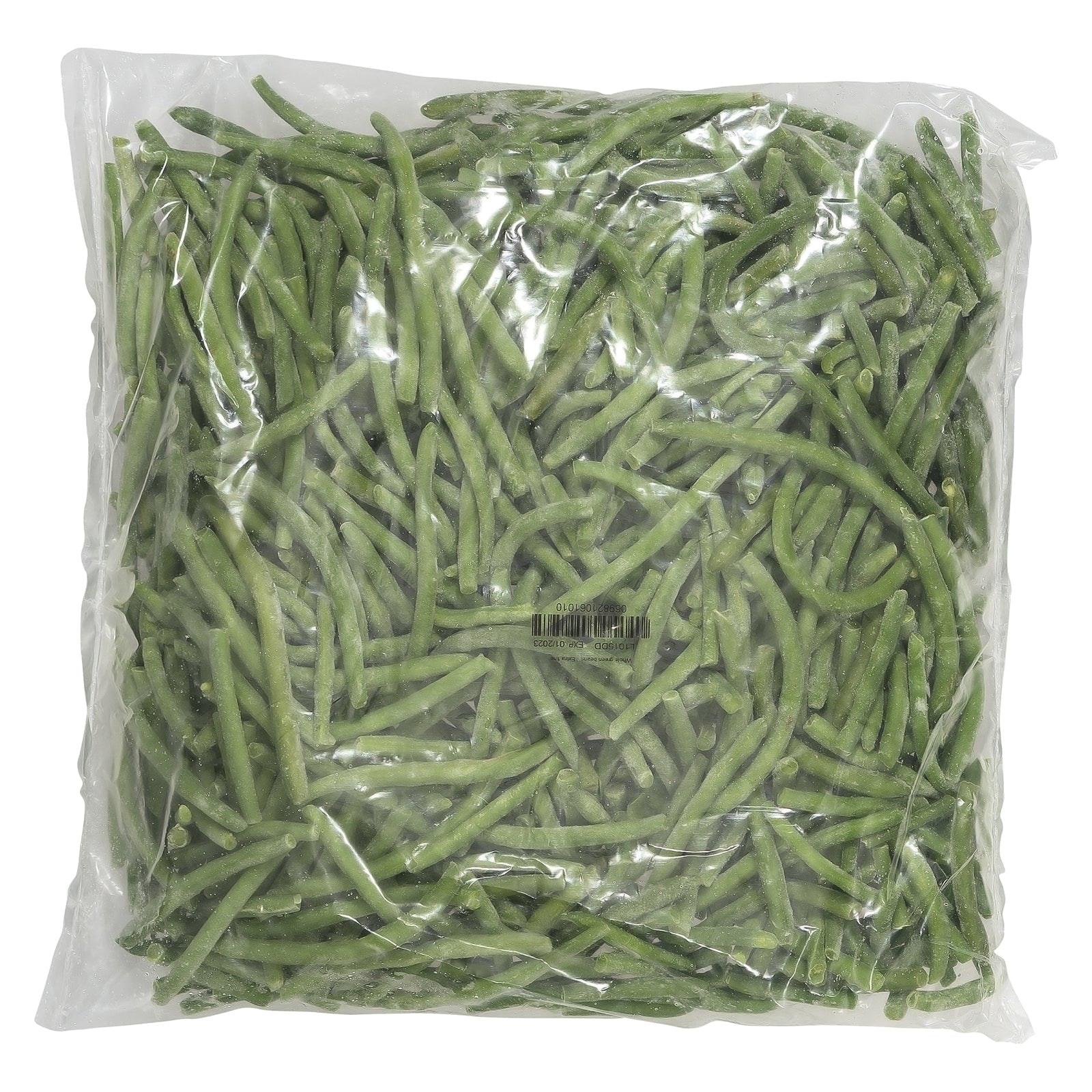 BELOW ZERO Whole extra fine green beans