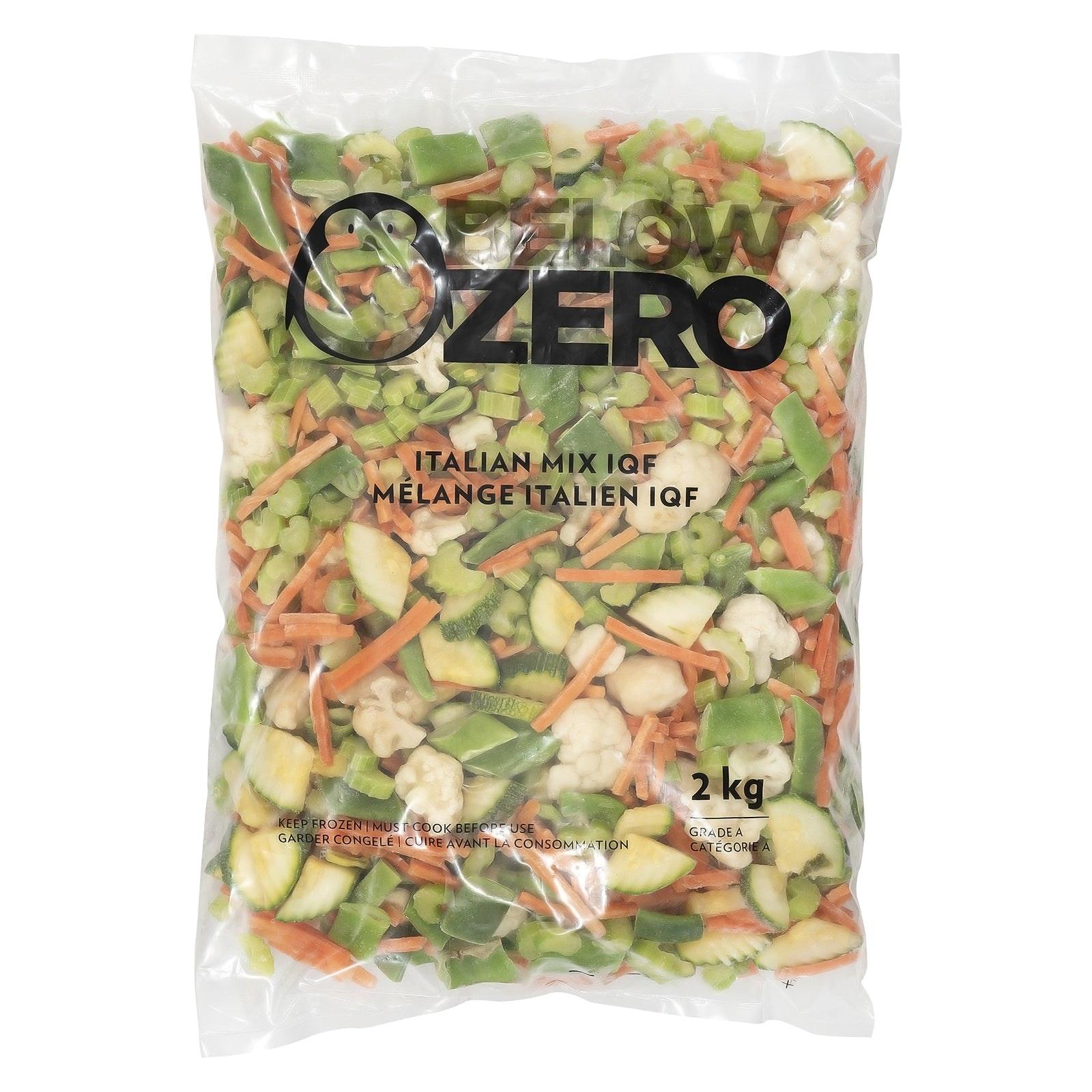 BELOW ZERO Italian Mixed Vegetables