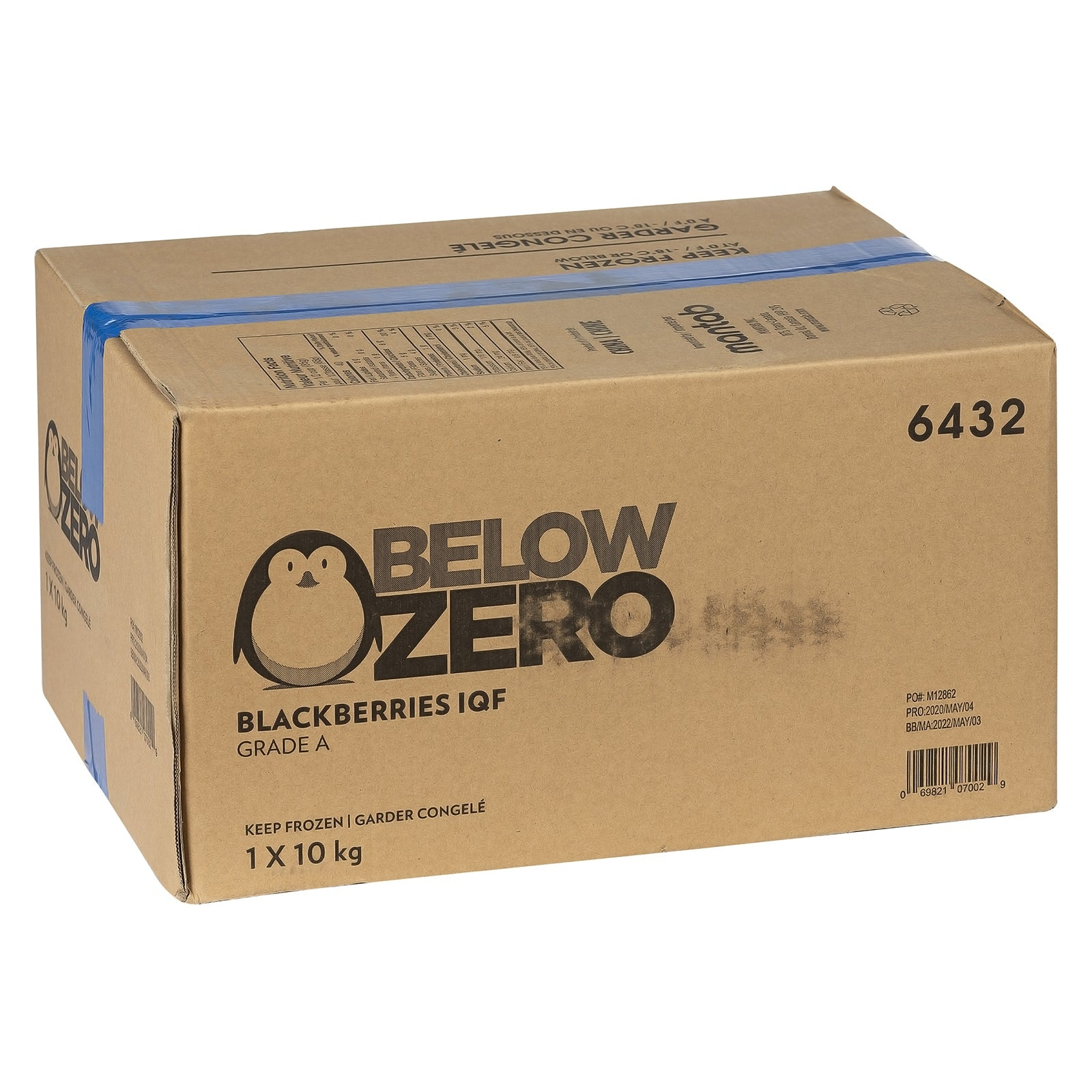 BELOW ZERO Blackberries