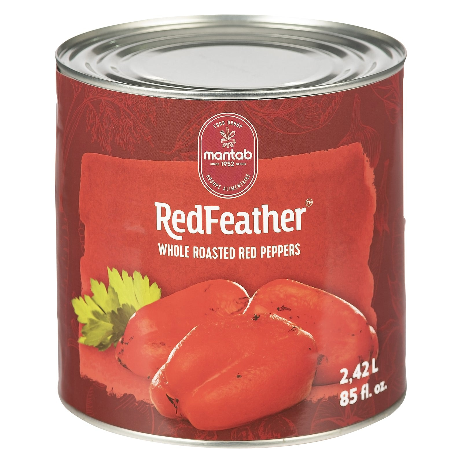 RED FEATHER Whole roasted red peppers