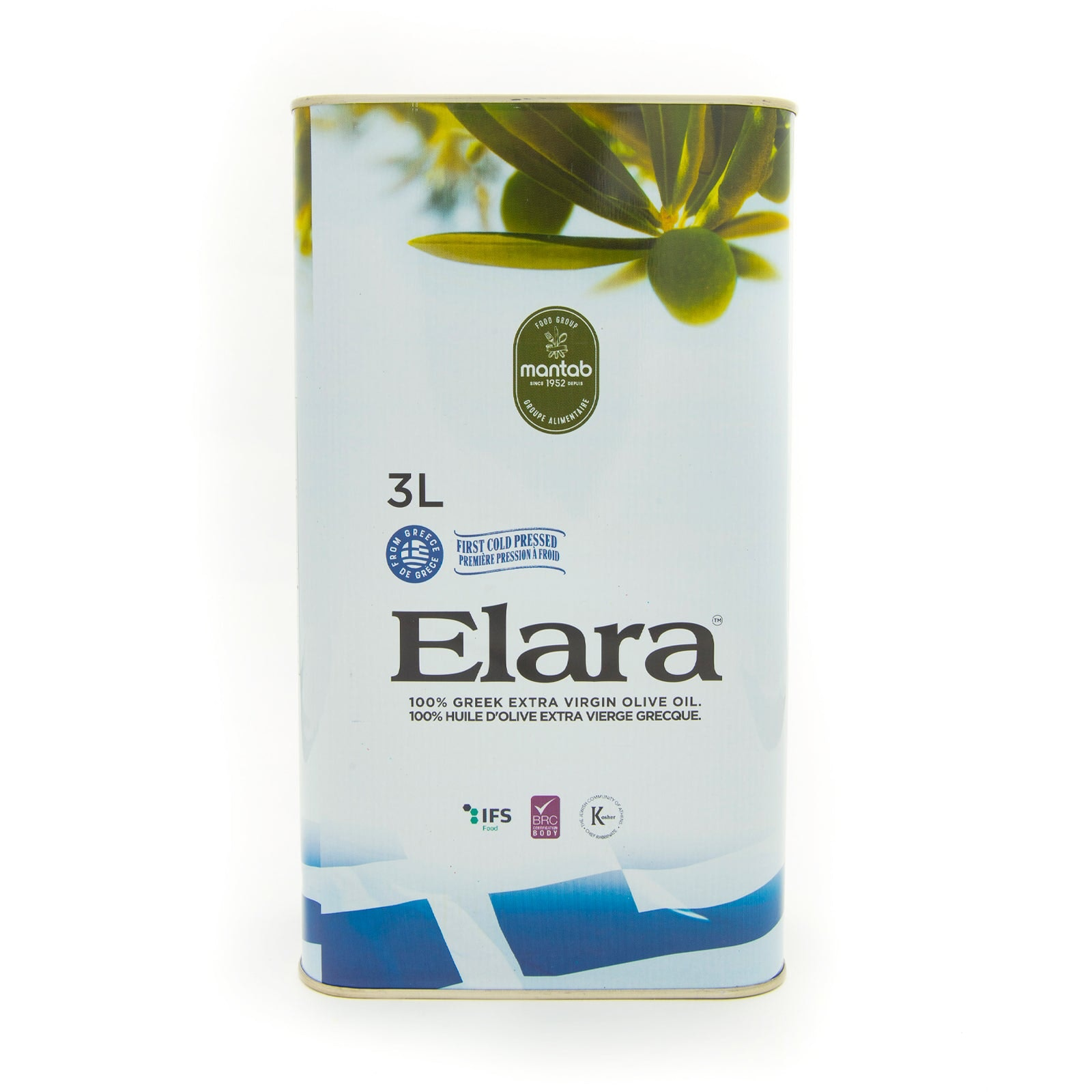ELARA Extra virgin olive oil - Tin