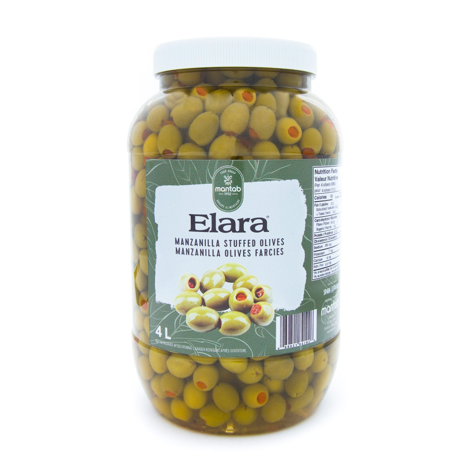 Elara Manzanilla Stuffed Olives