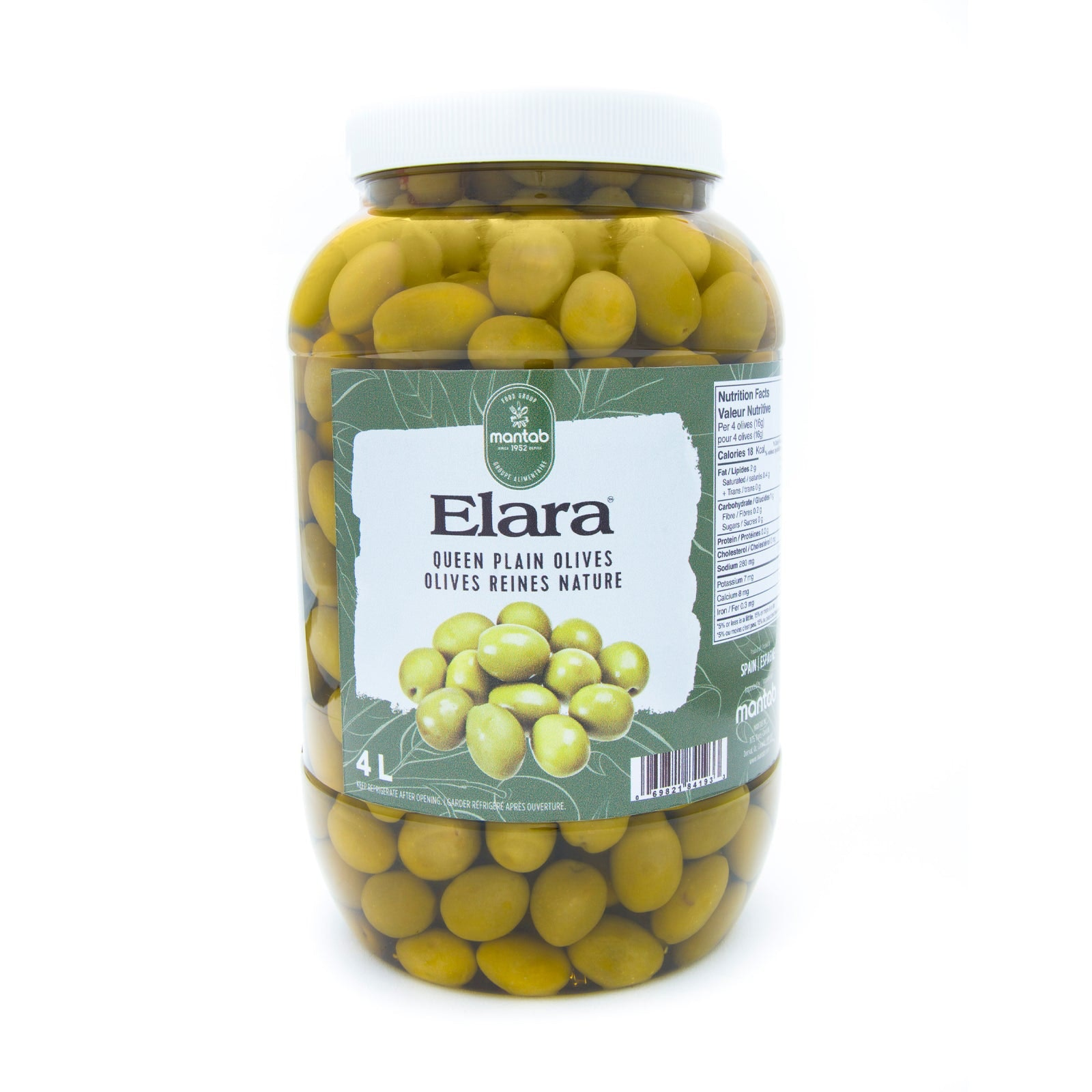Elara Queen Plain Olives