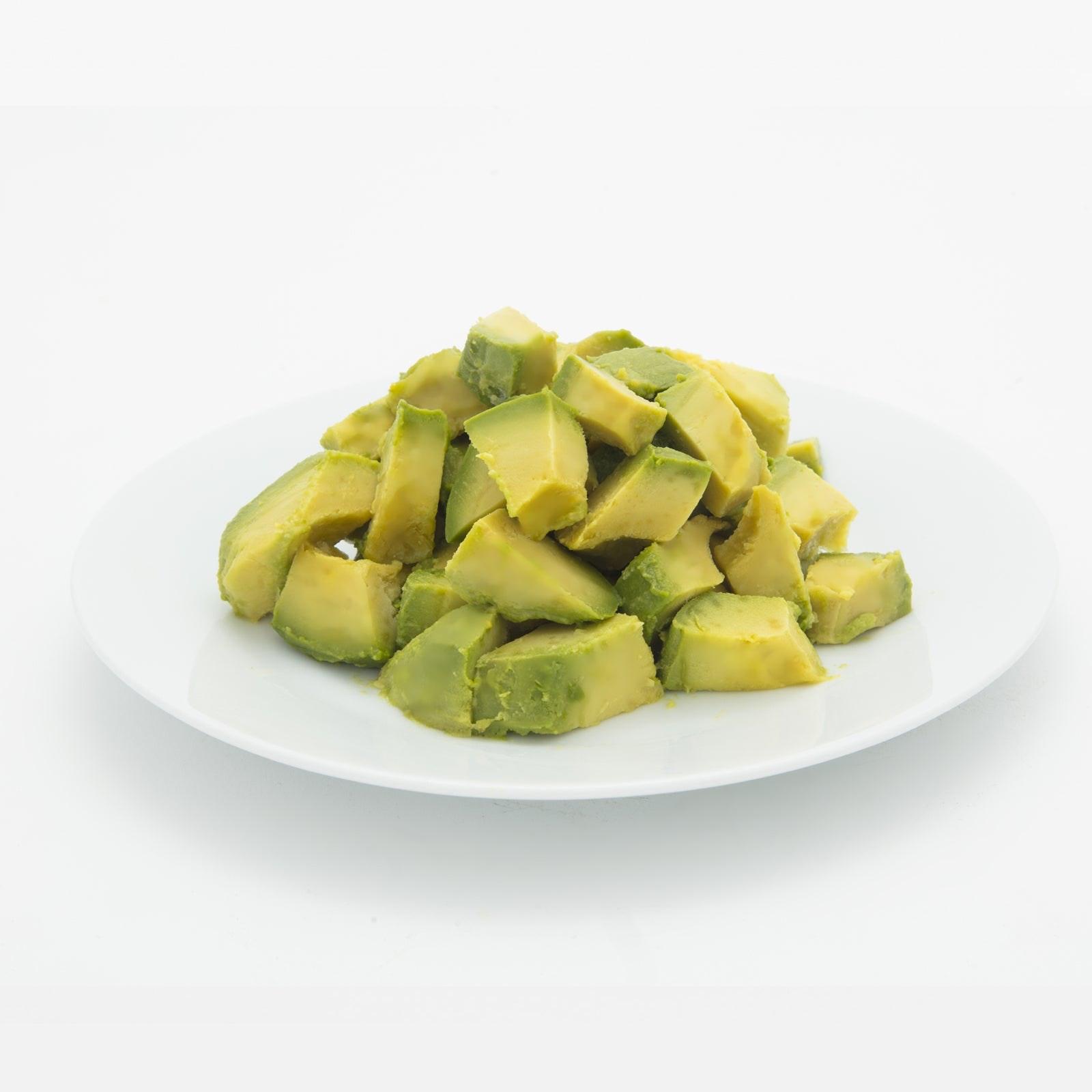 BELOW ZERO Avocado chunks