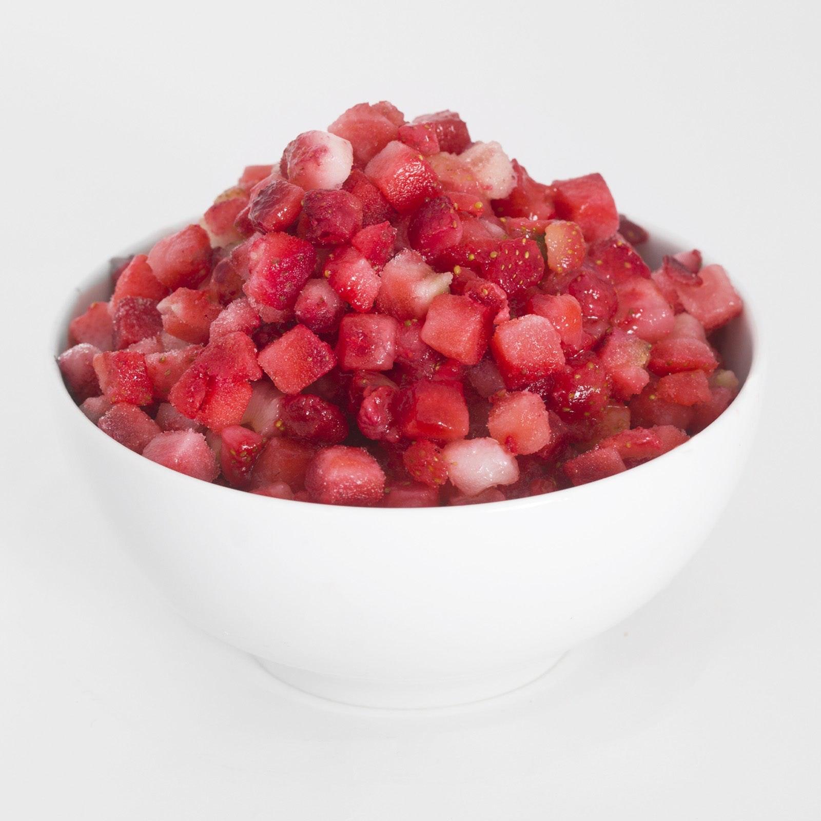 BELOW ZERO Diced Strawberries