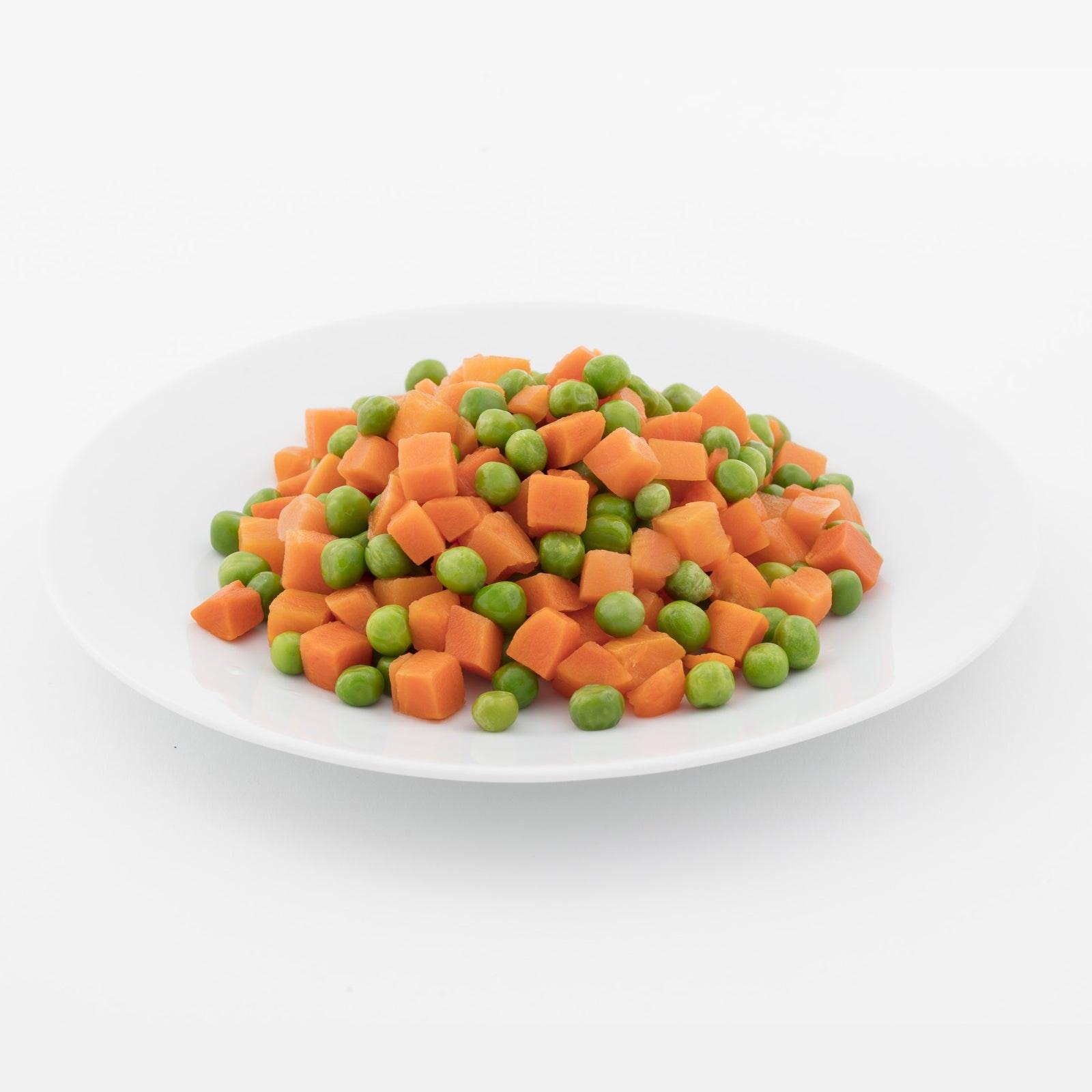 BELOW ZERO Peas & carrots