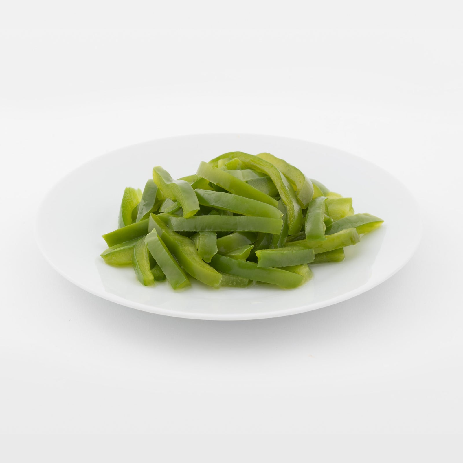 BELOW ZERO Green pepper strips