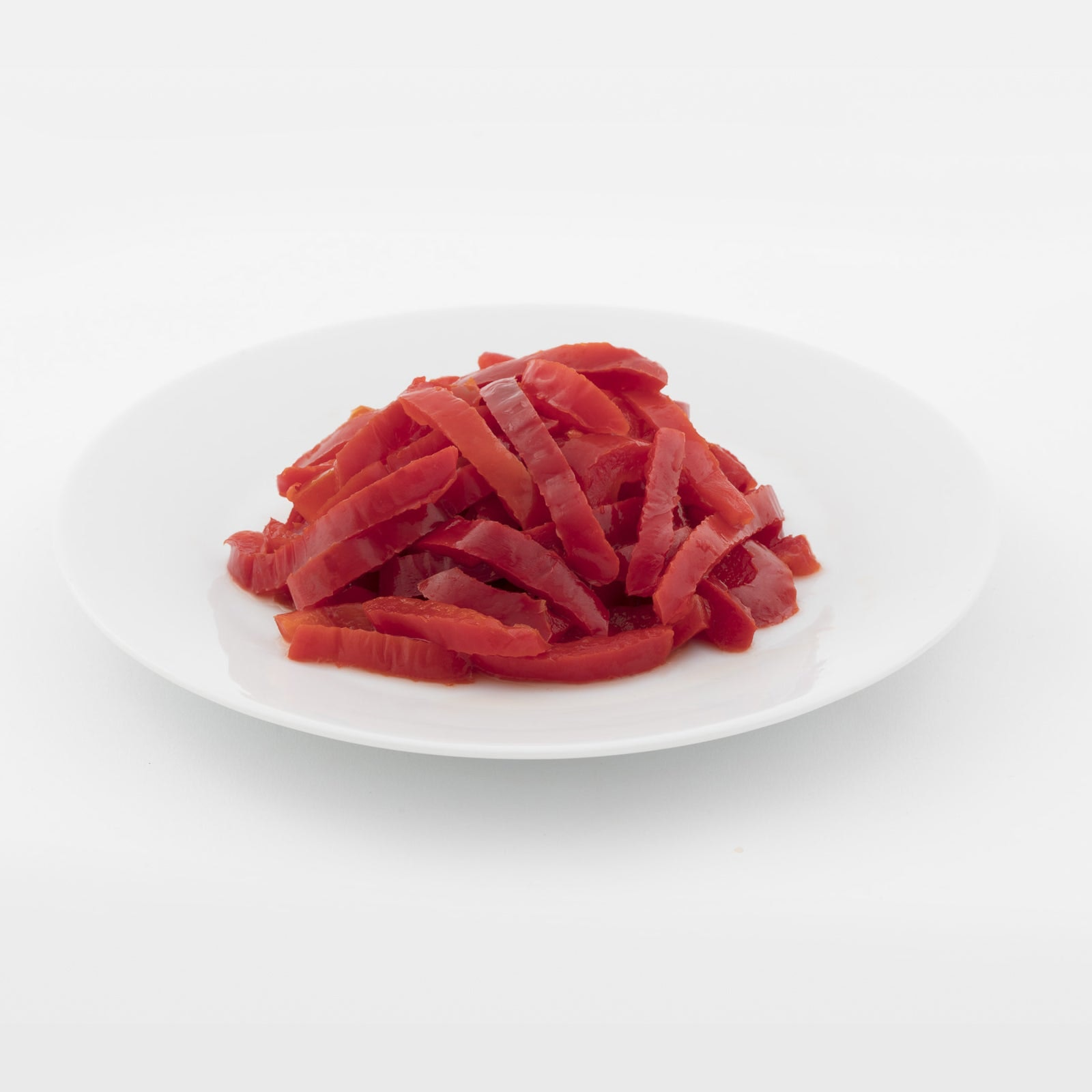 BELOW ZERO Red pepper strips