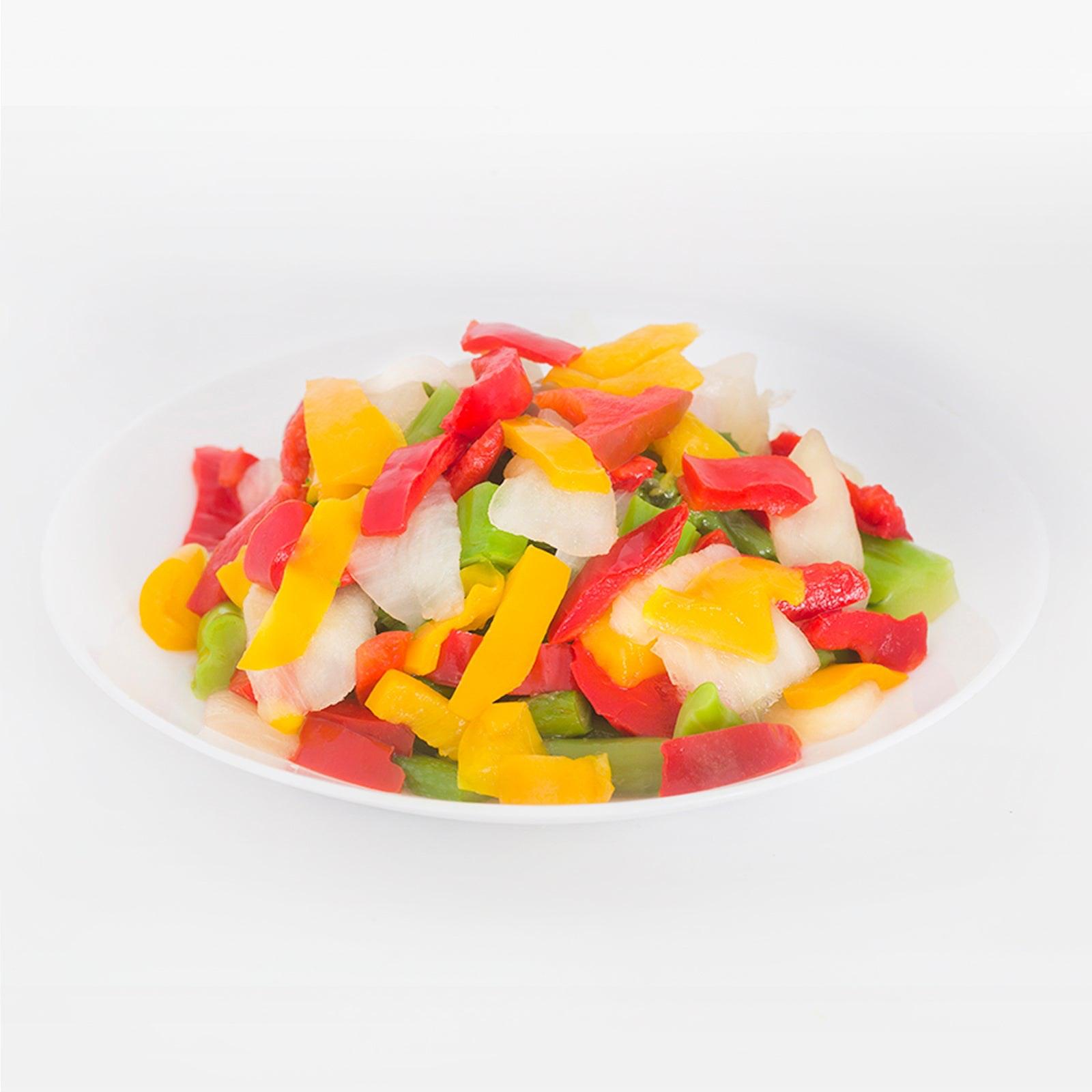 BELOW ZERO Fajita Mix Mixed Vegetables