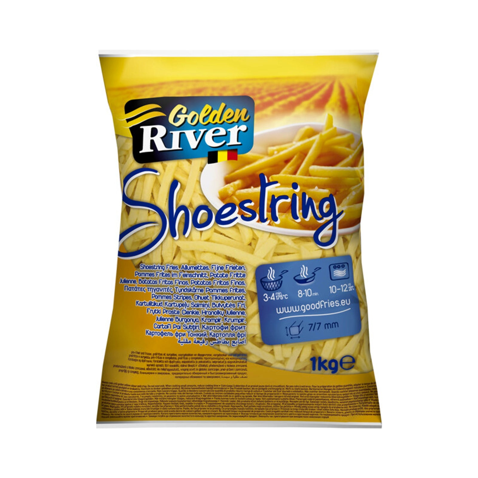 Golden River 9/32 Shoestring