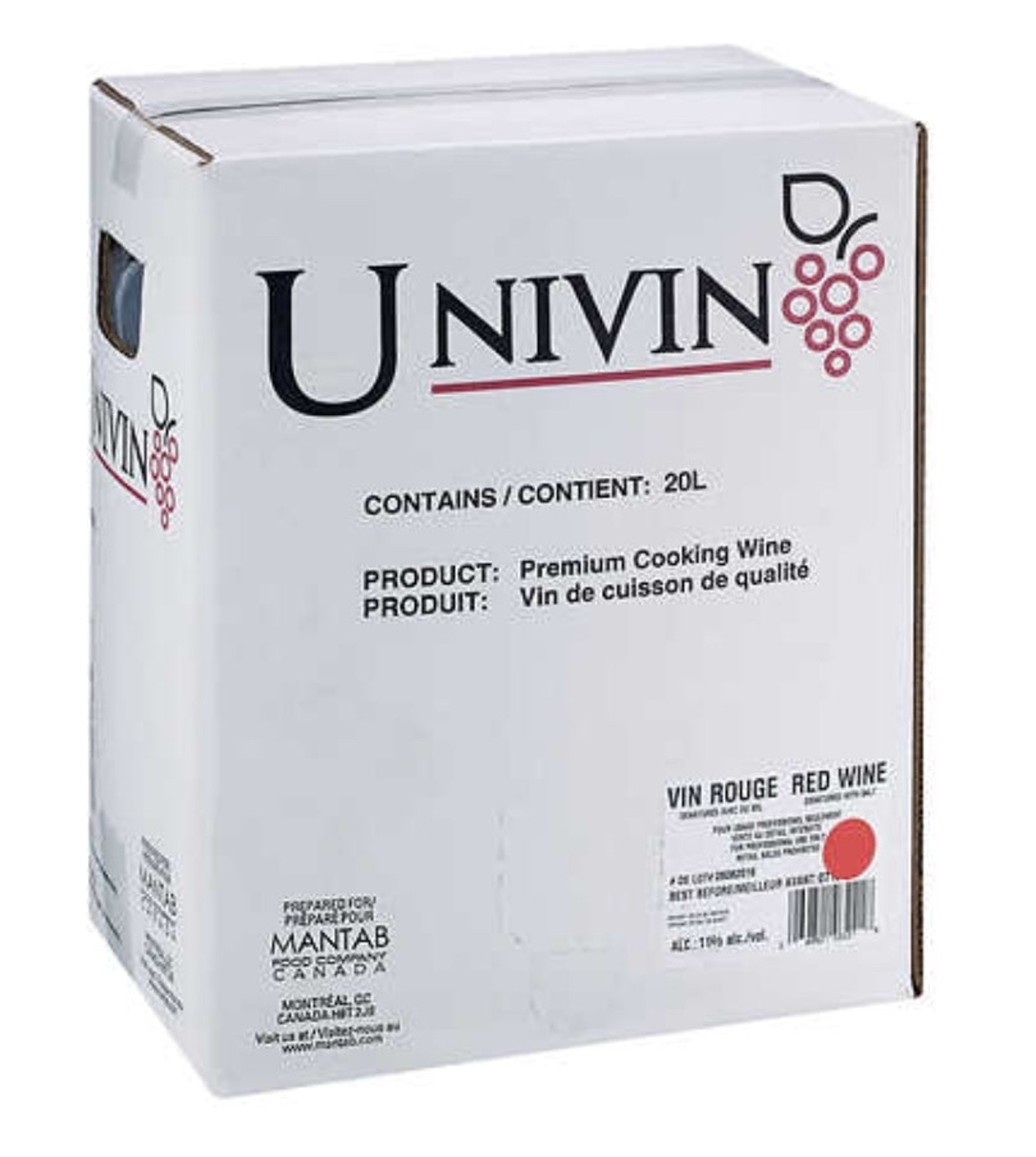 UNIVIN Wine denatured red 11%
