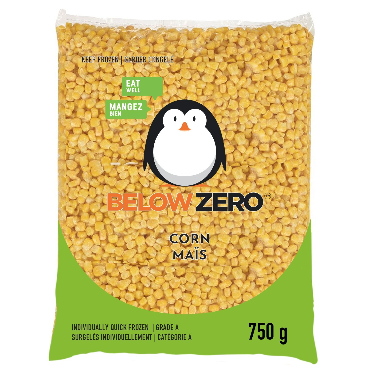 BELOW ZERO Corn