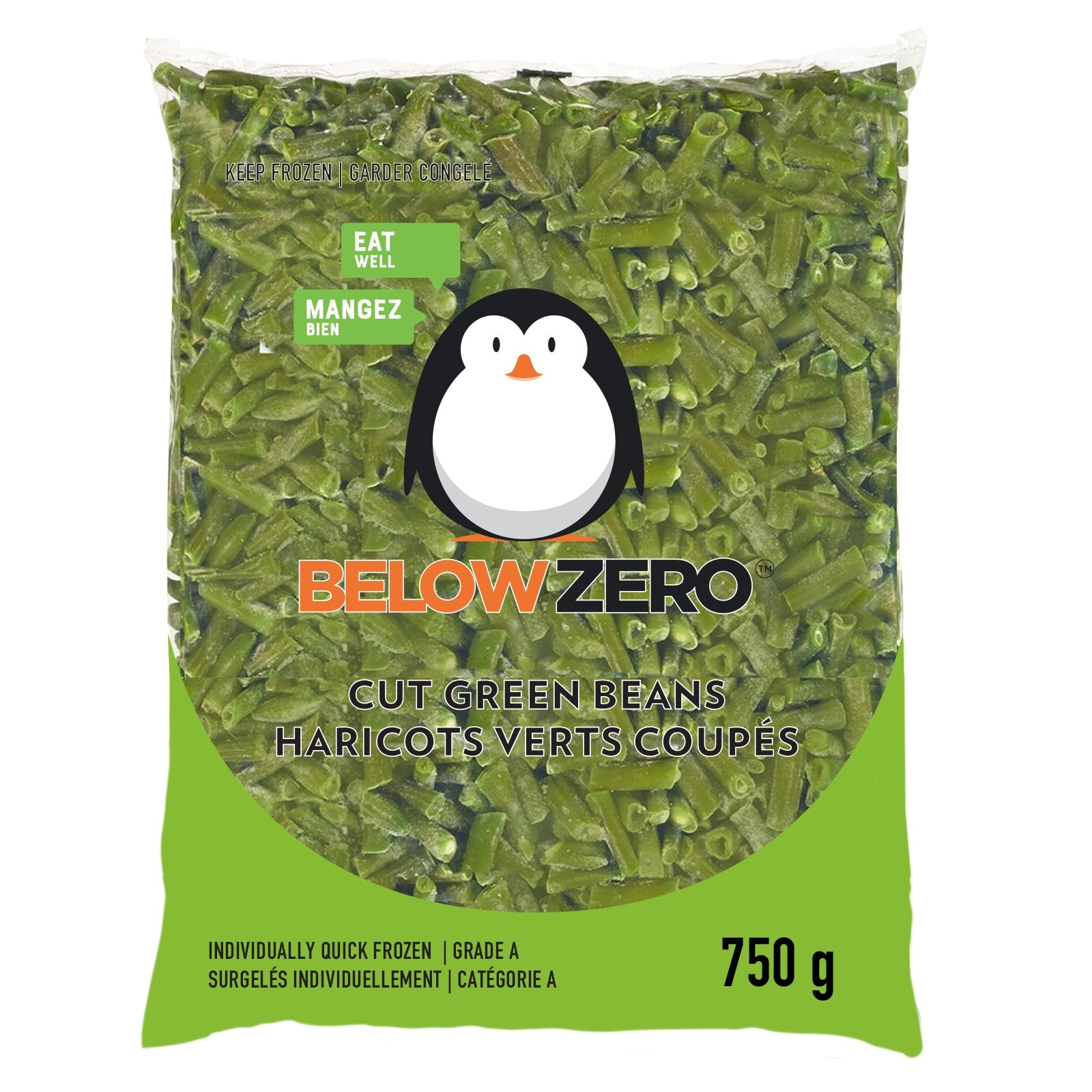 BELOW ZERO Cut Green Beans