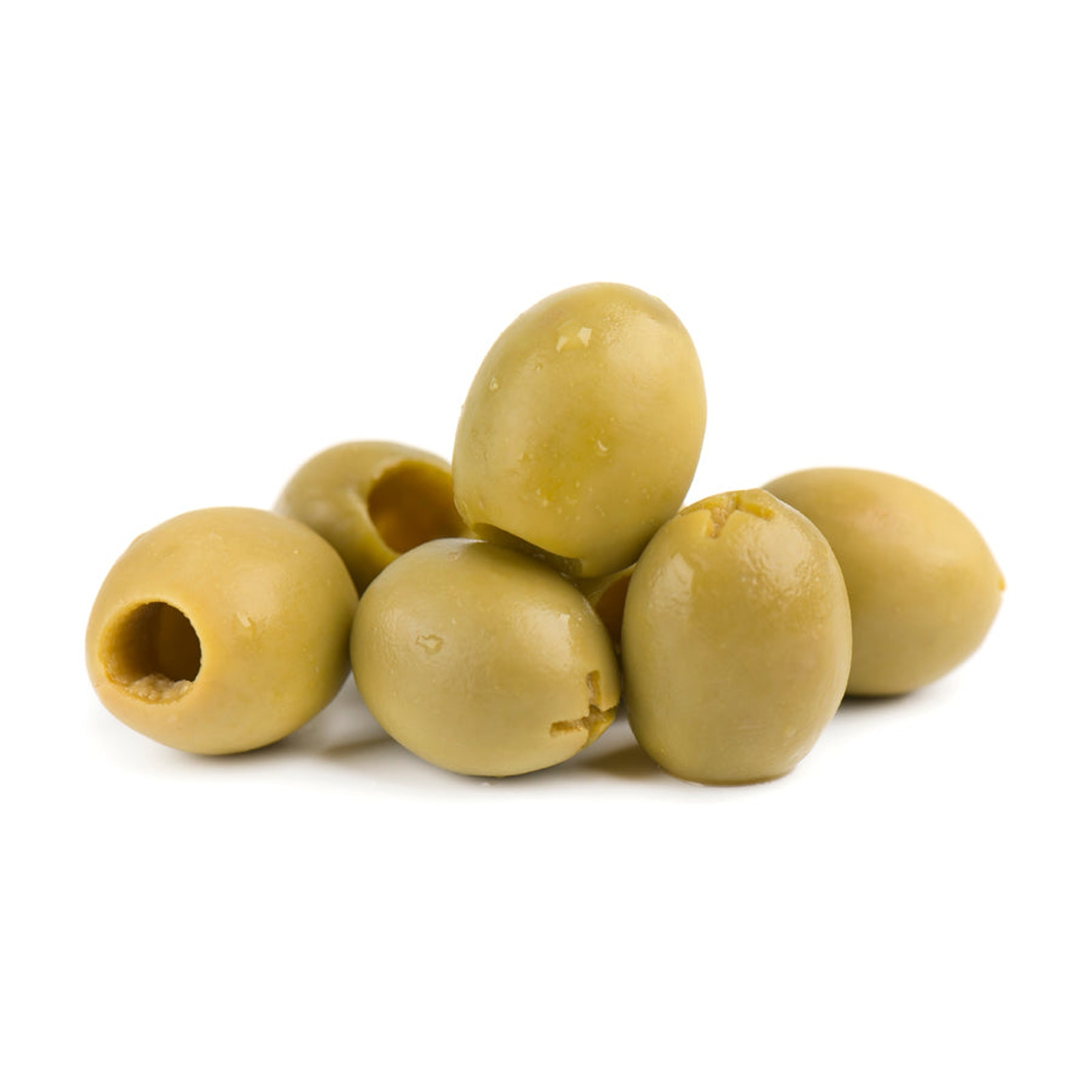 ELARA Green pitted Mammoth olives