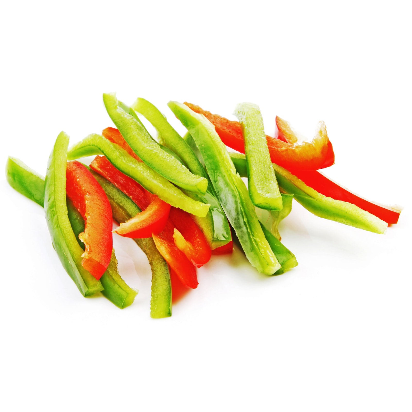 BELOW ZERO Mixed pepper strips